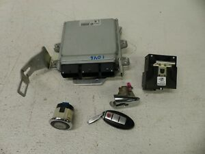 2009 Infiniti Fx35 Key Module Ecu Ignition Set Oem