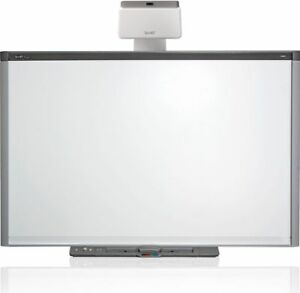 Sbx880 Interactive Smart Board And Uf75 Short Throw Projector Complete Warranty