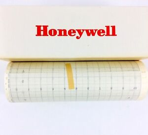 Lot Of 10 New Honeywell Paper Strip Chart Recorder Roll 100 055