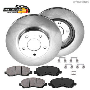 Front Rotors Ceramic Pads For Outlander Compass Patriot Avenger Lancer Sebring