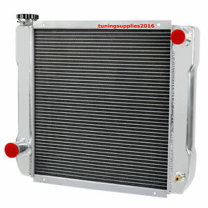 Universal Aluminum Racing Radiator For Ford Chrysler 22 X 19 X3 Heavy Duty