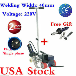 Usa Stock Ac220v Weldy Roofer Rw3400 Hot Air Pvc Welder 40mm Nozzle Air Gun