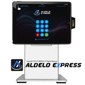 Pos x Isappos 12a Restaurant Stand Ipad Pro 12 9 Black For Aldelo Express