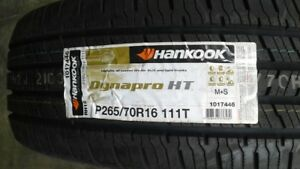 1 New P265 70r16 Hankook Dynapro Ht Rh12 Hankook All Season