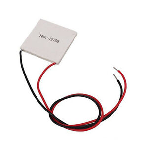 Tec1 12706 Heatsink Thermoelectric Cooler Cooling Peltier Plate 12v 60w Ss490
