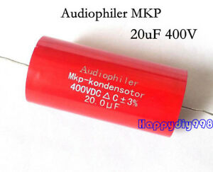 1pc 4pc 10pc Audiophiler Mkp Audio Capacitor 400v 20uf