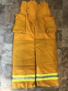 Lion Bodyguard Firefighter Turnout Gear Bunker Pants 26 X 32 Halloween Costume