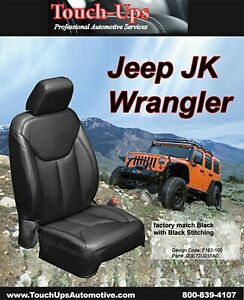 2013 2017 Jeep Wrangler Jk 4 Door New Katzkin Black Leather Seat Covers Kit
