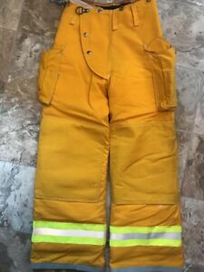 Lion Bodyguard Firefighter Turnout Gear Bunker Pants 26 X 30 Halloween Costume