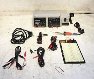 Velleman Lab 1 3 in 1 Lab Unit Soldering Station W Accessories