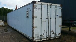 Hydroblasters Power Washer Complete Setup Enclosed In 40 Foot Container