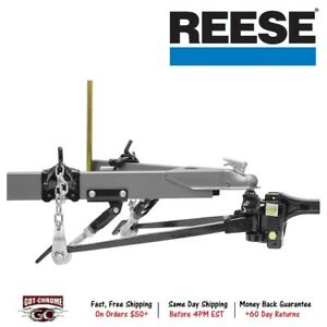 66130 Reese Strait Line Trunnion Bar Weight Distributing Hitch