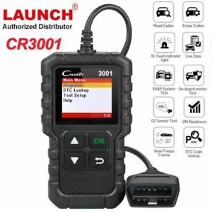 Launch Creader 3001 Obdii Function Code Reader Scanner Obd2 Eobd Diagnostic Tool