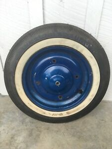 Vintage Bf Goodrich Silvertown Tire Fiat 500 Spare 12 Garage Advertising Sign