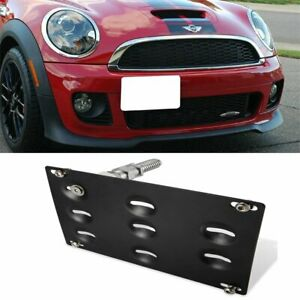 For 2001 2013 Mini Cooper Cooper S Front Tow Hook License Plate Mounting Bracket