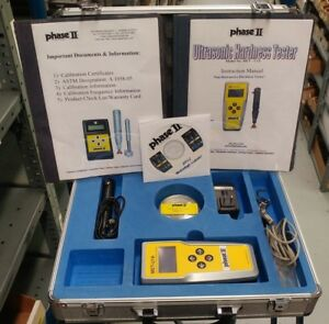 Phase Ii Met u1a Ultrasonic Portable Hardness Tester New