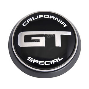Gt California Special Logo Car Rear Trunk Lid Emblem Nameplate For New Mustang