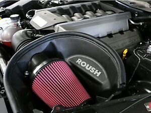 New 2015 2016 2017 Mustang Gt 5 0 Roush Cold Air Intake Induction System 421826