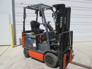 2016 Toyota 8fbcu25 Forklift Low Hour Rent Ready Warehouse Forklift Cheap