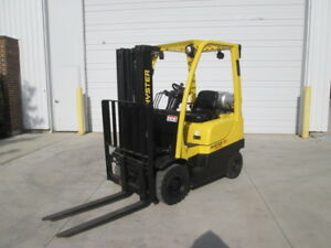 2011 Hyster Pneumatic Forklift Low Hour New Paint In out Door Forklift Cheap