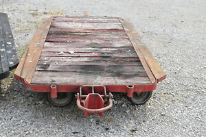 Antique Original Vintage Industrial Cart Dolley 4 Available
