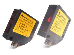 Lot Of 2 Baumer Electric Oedm 16p5101 s14 Laser Sensor Pnp