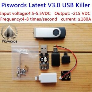 Usb Killer 3 0 U Disk Killer Miniature Power Module High Voltage Pulse Generator