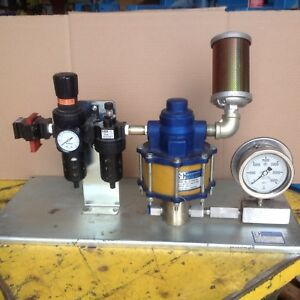 Sc Hydraulic Engineering Corp Air Driven Power Unit