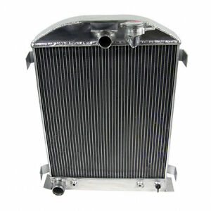 3 Row Aluminum Radiator For 1928 1931 Ford Model a Ford Grill Shells 1929 1930