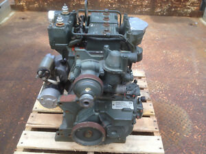Onan Dn2m Mep 802a Lister Petter Lpw2 2 Cylinder Diesel Engine Tested Video 6