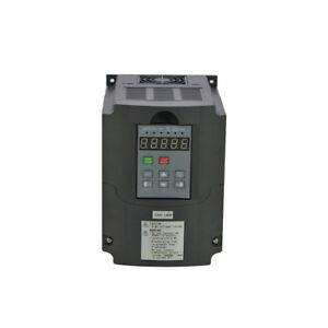 Variable Frequency Drive Inverter 1 5kw 220v Hot Cnc Product Vsd Vfd 2hp 7a