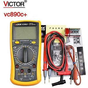 Vc890c Digital Multimeter True Rms 2000uf Capacitor Temperature Measurement