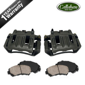 Front Oe Brake Calipers And Pads For 2003 2004 Dodge Dakota