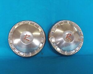 1959 1962 Nash Rambler Dog Dish Poverty Wheel Cover Hubcap 10 Used Oem 1 Pair