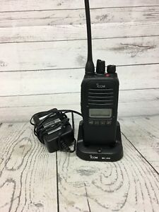 Icom F2000s Radio 128 Channels Uhf With Charger