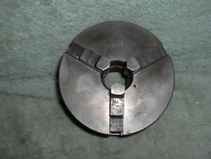 3 Jaw 4 Inch Diameter Union Lathe Chuck 2163 Made In Usa