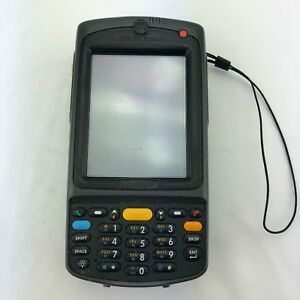 Symbol Motorola Mc75a0 Mobile Barcode Scanner Tested Working W Battery