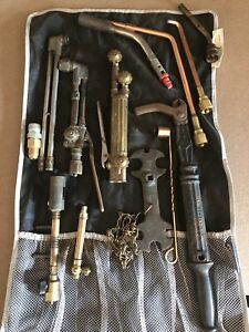 Full Lot Of Victor Cutting Torches And Accessories