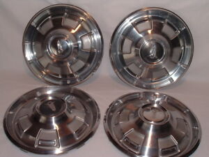 1968 Plymouth Barracuda Valiant Belvedere 14 Inch Hubcaps Wheel Covers Set Of 4