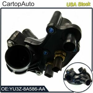 Thermostat Housing With Thermostat For Ford Explorer Xlt Sport Utility 2002 2010
