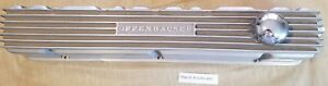 Offenhauser 62 75 Chevy Inline Straight 6 Finned Valve Cover 194 230 250 292