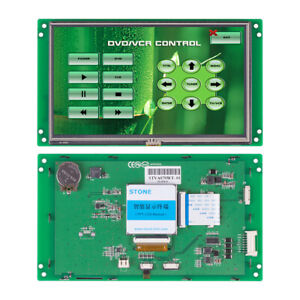 Stone 7 Inch Hmi Tft Lcd Touch Control Panel For Equipment Use