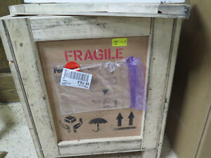 Wood Crate Shipping Box With Lid Packing Included Wooden Storage Table Ship
