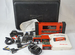 Snap On Mtg2500 Color Graphing Diagnostic Scanner Set untested And As is