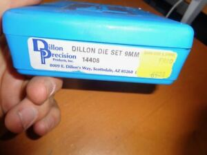 Dillon Precision Carbide New Dynamic Reloading Dies For 9mm