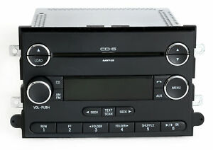 2006 13 Ford Car Truck Van Radio Am Fm 6 Disc Mp3 Cd Player Pn 8e5t 18c815 Af