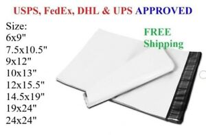 Poly Mailers Plastic Envelopes Shipping Bags 2 3 Mil Wholesale