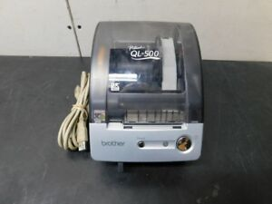 Brother P touch Ql 500 Manual cut Usb Thermal Label Printer