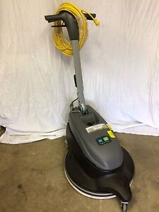 Floor Buffer Scrubber Burnisher Dust Control Noble Model Br 2 000 dc New