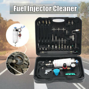 Auto Non dismantle Fuel System Cleaner Injector test For Petrol Efi Throttle